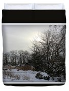 The Storm Is Gone Duvet Cover