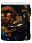 The Taking Of Christ Duvet Cover