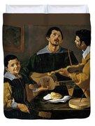 The Three Musicians Duvet Cover