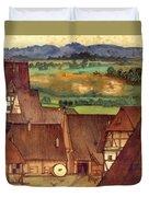The Trefilerada On Peignitz  Duvet Cover