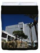 The Tropicana Hotel And Casino, Las Vegas Duvet Cover