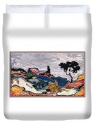 The Unimaginable Dream Of The Fish 22 Duvet Cover