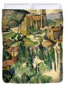 The Village Of Gardanne  Duvet Cover