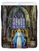 The Virgin Mary Duvet Cover