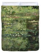The Water-lilies Pond  Duvet Cover