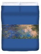 The Water Lily Pond 1914 1917 Duvet Cover