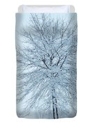 The Winter Tree  Duvet Cover by Lori Frisch