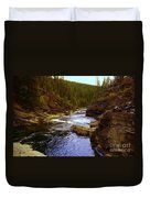 The Yak River Duvet Cover