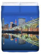 This Is Cleveland II Duvet Cover