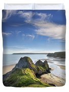 Three Cliffs Bay 5 Duvet Cover