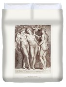 Three Graces Duvet Cover