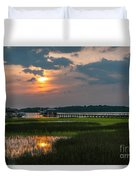 Thriving Beauty Of The Lowcountry Duvet Cover
