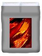 Through A Glass Darkly 1 Abstract Duvet Cover