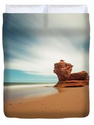 Thunder Cove Sea Arch And Flowerpot Rock Duvet Cover
