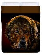 Tibetan Mastiff Duvet Cover