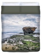 Tides Of Flowing Time Duvet Cover
