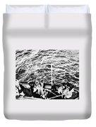Titanic: Lifeboats, 1912 Duvet Cover