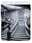 Titanic's Grand Staircase Duvet Cover