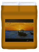 Tobago Sunset Duvet Cover