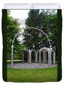 Toledo Botanical Garden Arches Duvet Cover