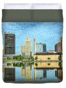 Toledo Skyline Duvet Cover