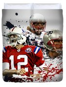 Tom Brady Patriots Duvet Cover