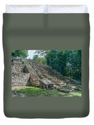 Tombs At Oxtankah Duvet Cover