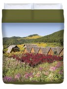 Toong Bua Tong Forest Park Duvet Cover