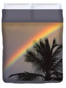 Top Of A Palm Tree Duvet Cover