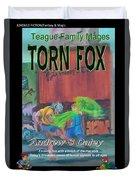 Torn Fox Duvet Cover