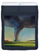 Tornado On The Move Duvet Cover