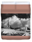 Totem Pole Monument Valley Duvet Cover