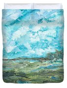 Toward Pinckney Island Duvet Cover