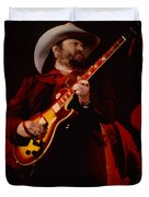 Toy Caldwell Of Themarshall Tucker Band At The Cow Palace Duvet Cover