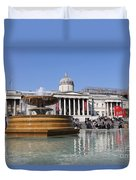 Trafalgar Square London Duvet Cover