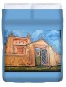 Trampas Church Duvet Cover