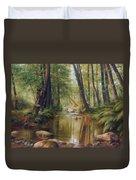 Transcarpatien Landscape Duvet Cover