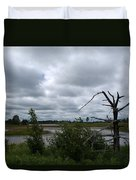 Tree In The Wetland Duvet Cover