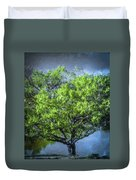Tree On The Bank Duvet Cover