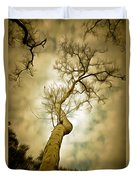 Tree Top In The Clouds Duvet Cover