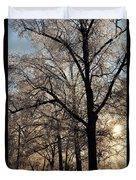 Trees In Ice Series Duvet Cover