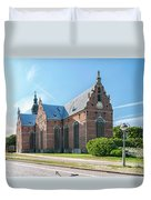 Trinity Church In Kristianstad Duvet Cover