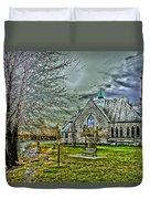 Trinity Episcopal Church Duvet Cover