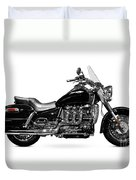 Triumph Rocket IIi Motorcycle Duvet Cover