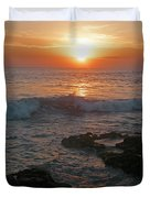 Tropical Bali Sunset Duvet Cover