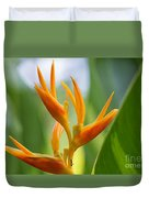 Tropical Bird Of Paradise, Sri Lanka Duvet Cover