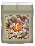 Tropical Fish Clownfish Duvet Cover by MotHaiBaPhoto Prints
