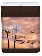 Tropical Lily Duvet Cover