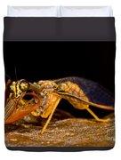 Tropical Mantispid Duvet Cover