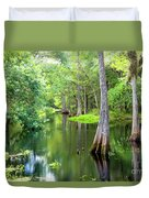 Tropical River 3 Duvet Cover